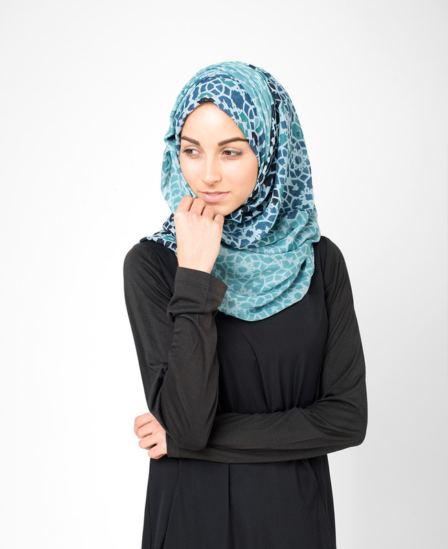 Nile Blue Hijab