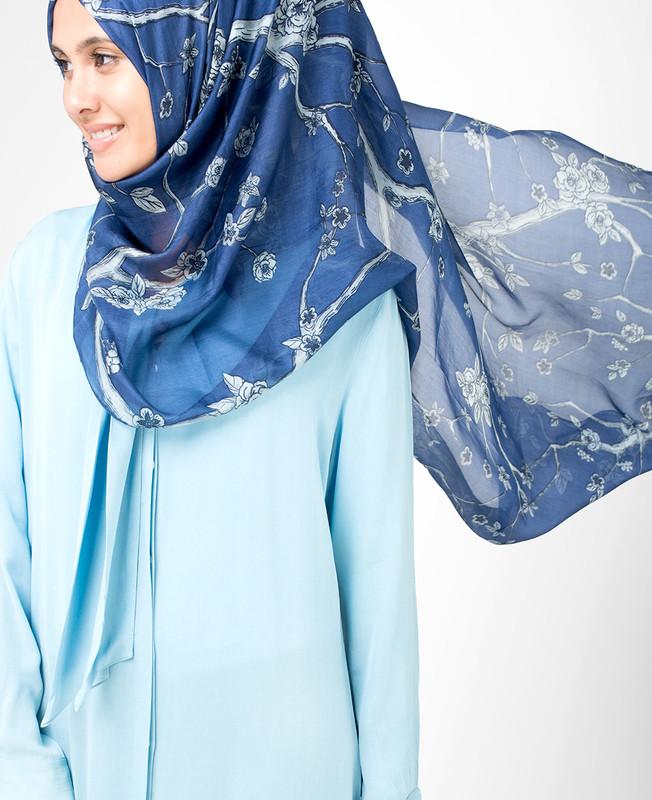 Blue Indigo Hijab