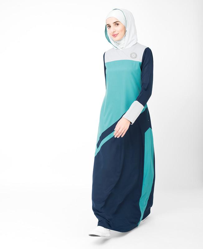 Colour Stripe Jilbab
