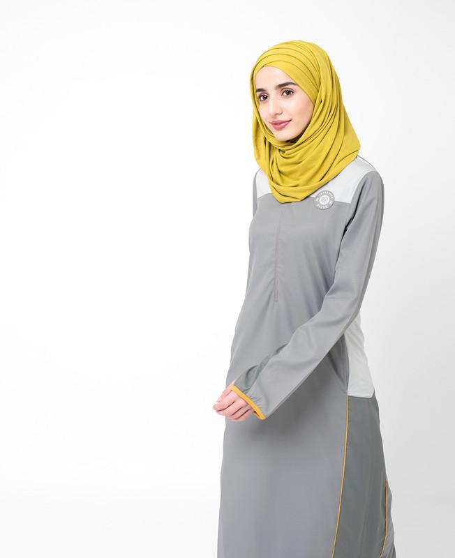 Frost Grey Jilbab