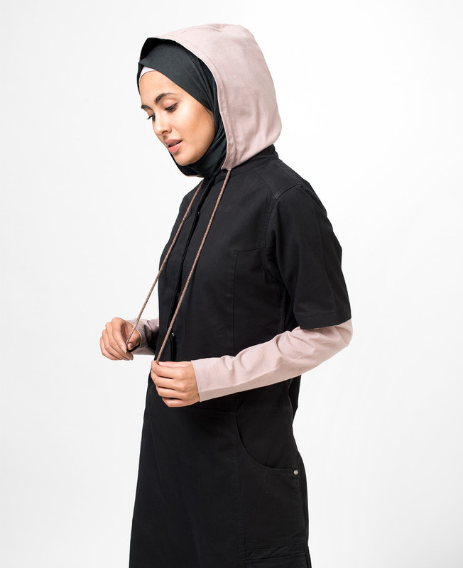 Black Sea Hooded Jilbab