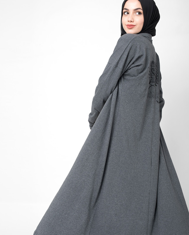 Simple Grey Cardigan