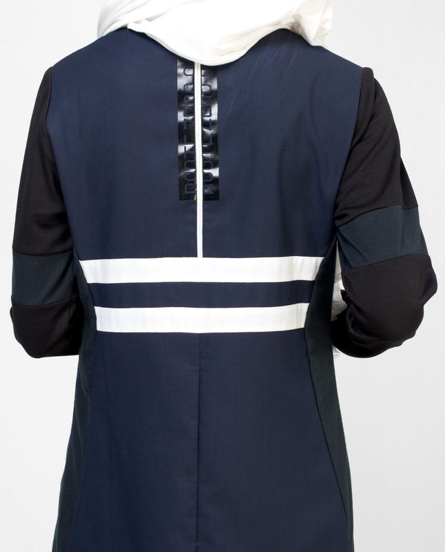 Blue Sporty Jilbab