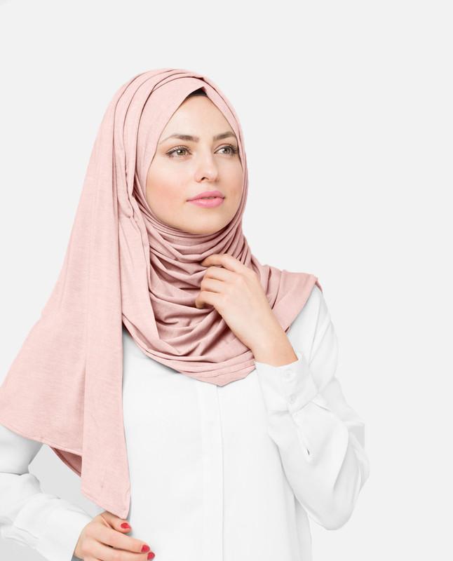 Impatiens  Pink Viscose Jersey Hijab