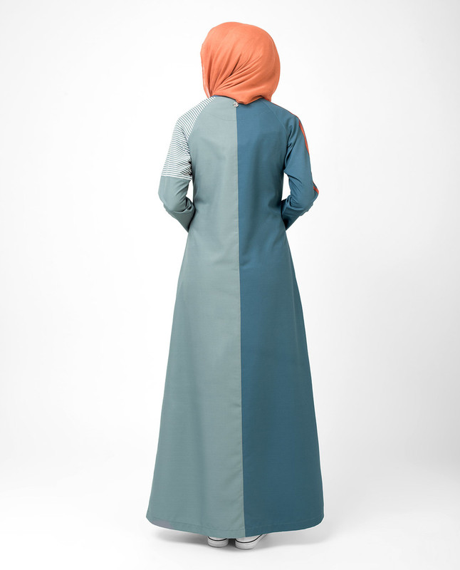 Two Halves Of Spring Jilbab