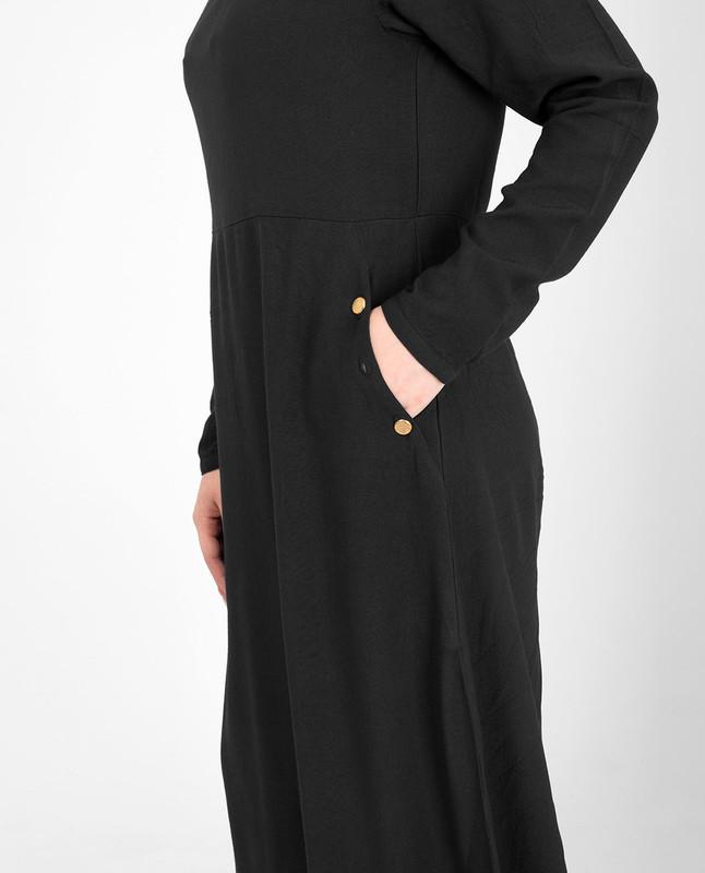 Black classic abaya jilbab