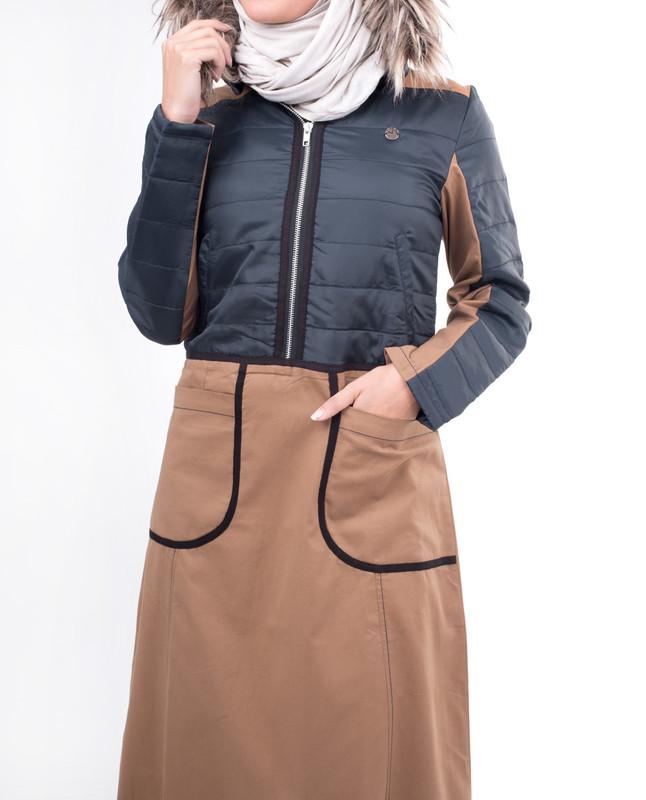 Winter comfort abaya jilbab