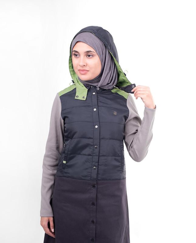 Night wear winter abaya jilbab