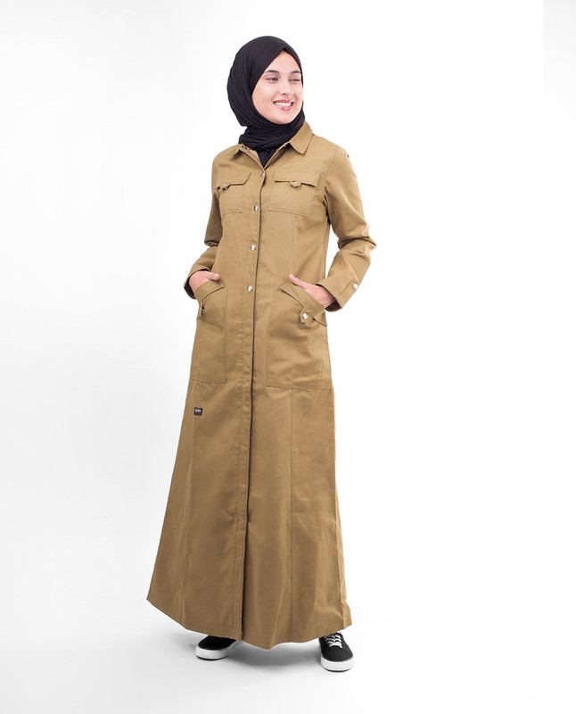 Winter coat abaya jilbab