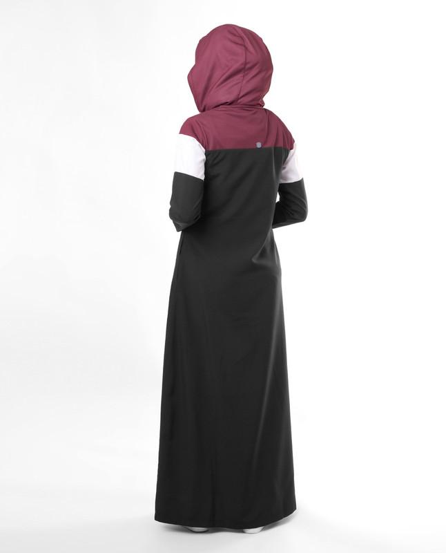 Travel wear abaya jilbab