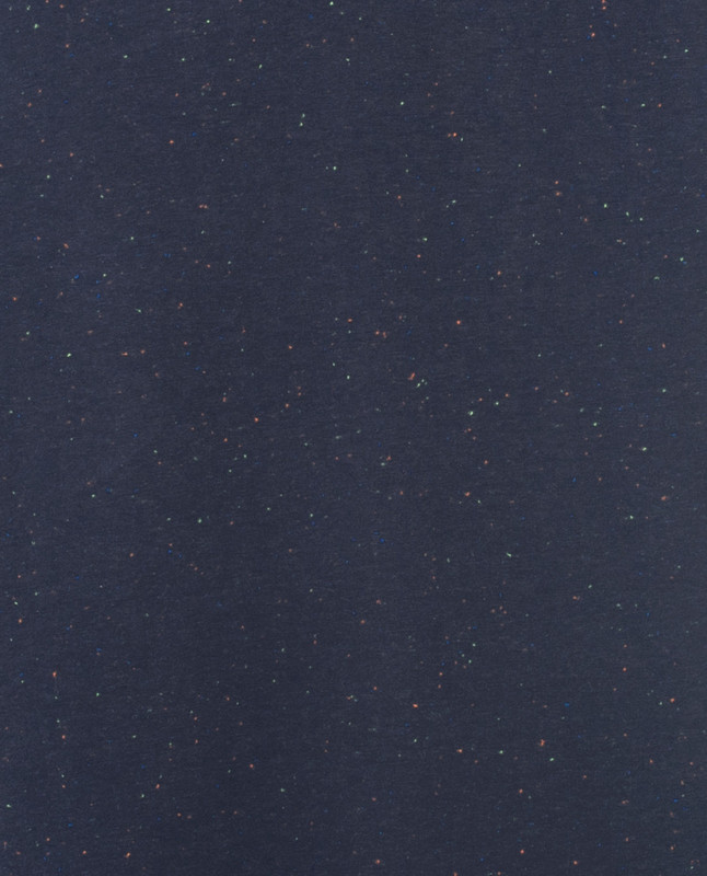 Sparkly Navy Long Modest Top