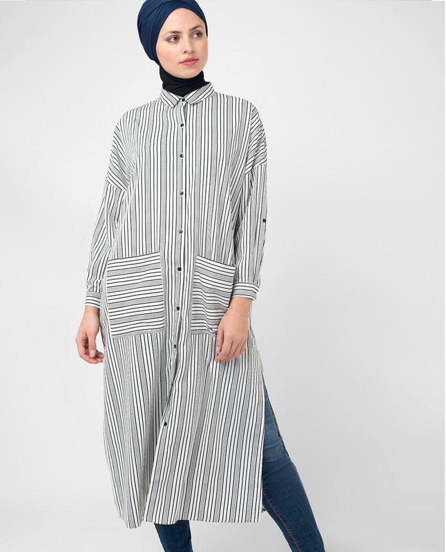 women's long sleeve button down collar shirts