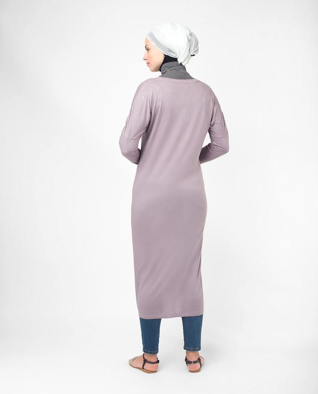 Long v-neck tops for ladies, tunics