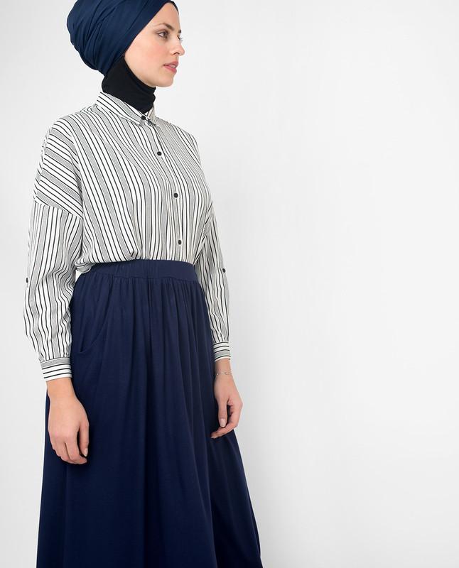 buy blue skirts online cheap