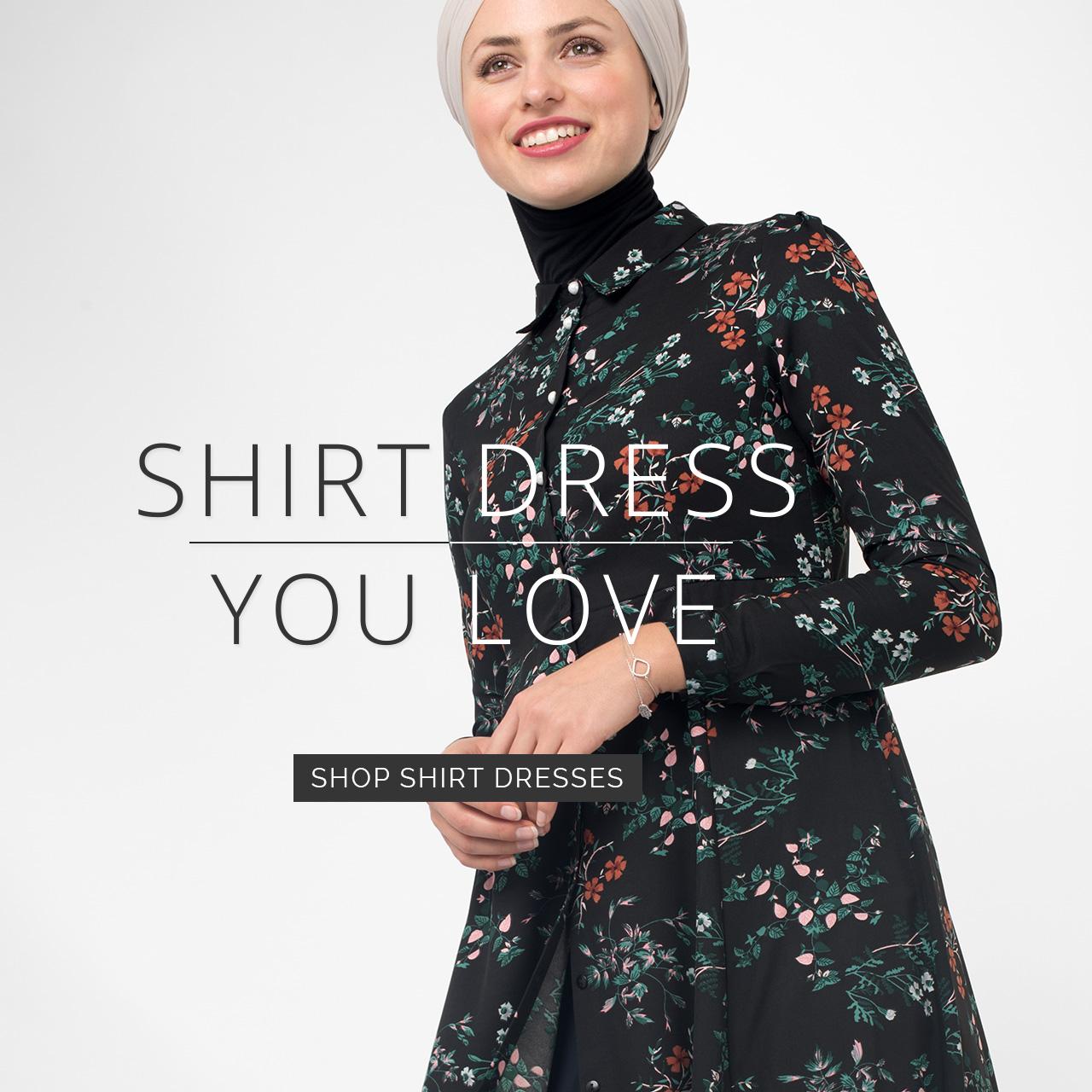 Modest Shirt Dress