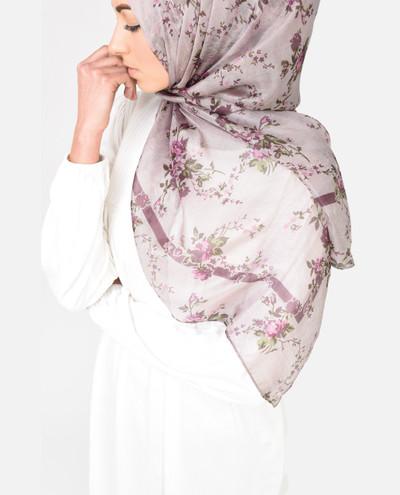 Lavender Dreams Silk Scarf
