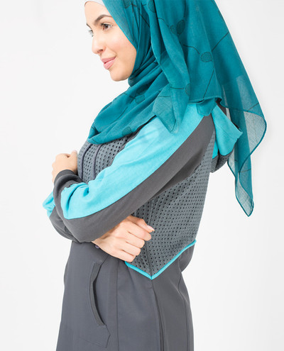 Teal Doubles Scarf