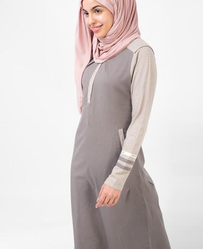 Cloudburst Grey Jilbab
