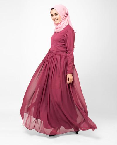Rose In Bloom Abaya