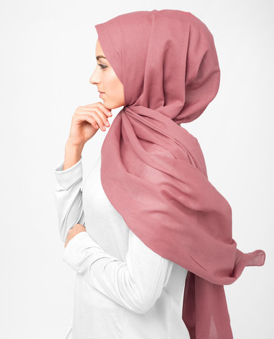 Hollyberry Voile Scarf