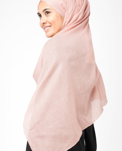 Rose Dust Voile Scarf