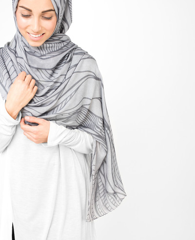 Smoked Pearl Scarf