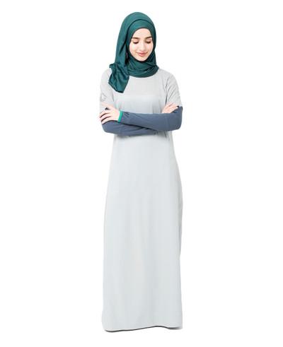 Two Toned Jilbab