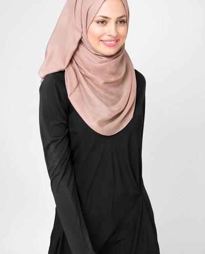 Beaver Fur Beige Viscose Hijab