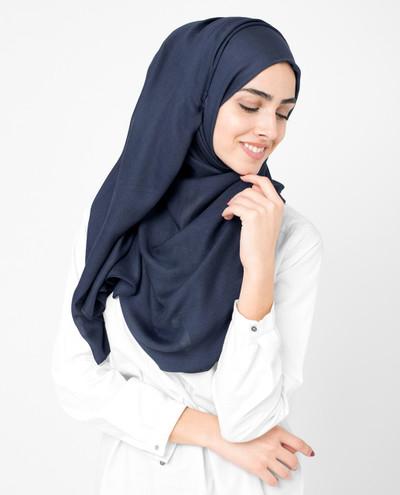Stargazer Blue Viscose Hijab