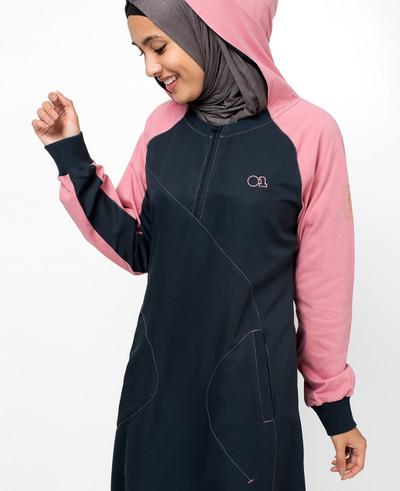 Hooded Zip Jilbab
