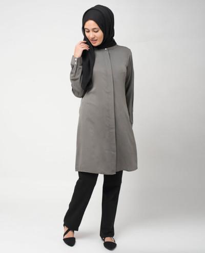 Grey Everyday Blouse
