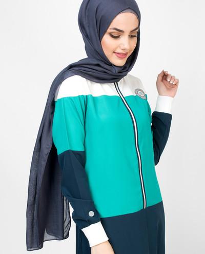Oceanic Casual Jilbab
