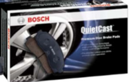 BOSCH QUIETCAST PREMIUM FRONT DISC  BRAKE PADS - BP1631
