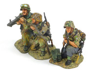 King & Country WS166 WWII Laying The MG42 Gun Set