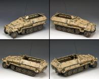King & Country AK093 Afrika Korps Sd. Kfz. 251 Halftrack World War