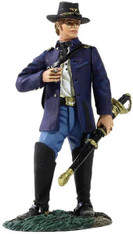 W Britain 31146 Federal Captain of Infantry Wearing Sack Coat with Cigar