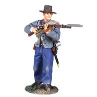 W Britain 31242 Confederate Infantry Defending No.3 American Civil War