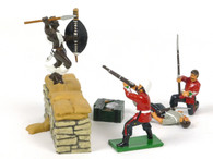 Trophy Miniatures BD6 Behind The Entrenchment
