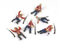Trophy Miniatures ZS69 British Fallen In Zululand 1879
