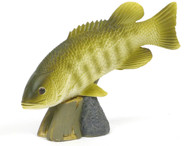 Royal Darwin Model 105 Freshwater Game Fish Small Mouth Bass Our American Heritage Series Collectible