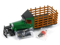 Spectrum By Bachmann G Scale Model Trains Painted, Unlettered - Green & Black - Rail Truck