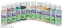 Mayco Stroke & Coat Wonderglaze for Bisque, Set 2 - 2 oz Jars - Set of 12 Colors