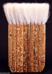 "3 1/8"" Hake Blender Brush For Watercolor, Wash, Ceramic & Pottery Painting"