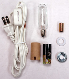 Creative Hobbies® Medium Christmas Tree Wiring Kit #ML2-25B6, 25 watt bulb, Great For Lighting Medium Size Objects