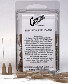 27 Gauge 1.5 Inch, Gray Color, Precision Applicator Dispensing Needle Tips, 50 Pieces