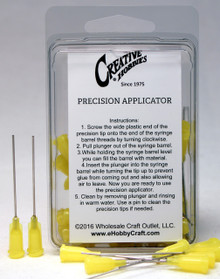 20 Gauge 1.5 Inch, Yellow Color, Precision Applicator Dispensing Needle Tips, 50 Pieces
