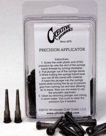 16 Gauge 1.25 Inch, Charcoal Gray Color, Precision Applicator Dispensing Needle Tips, 50 Pieces