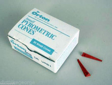 ORTON CONES JUNIOR PYROMETRIC CONES FOR CERAMIC KILNS Box of 50 - Cone 012