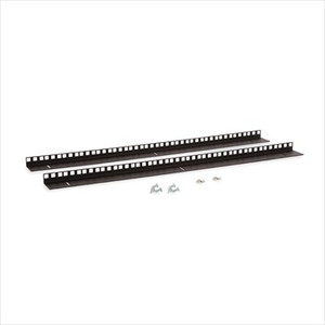 15U Wall Mount Vertical Rail Kit