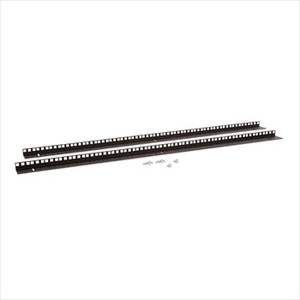 22U Wall Mount Vertical Rail Kit
